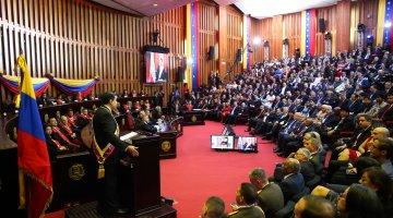 Venezuela President Marudo's 2nd Inauguration