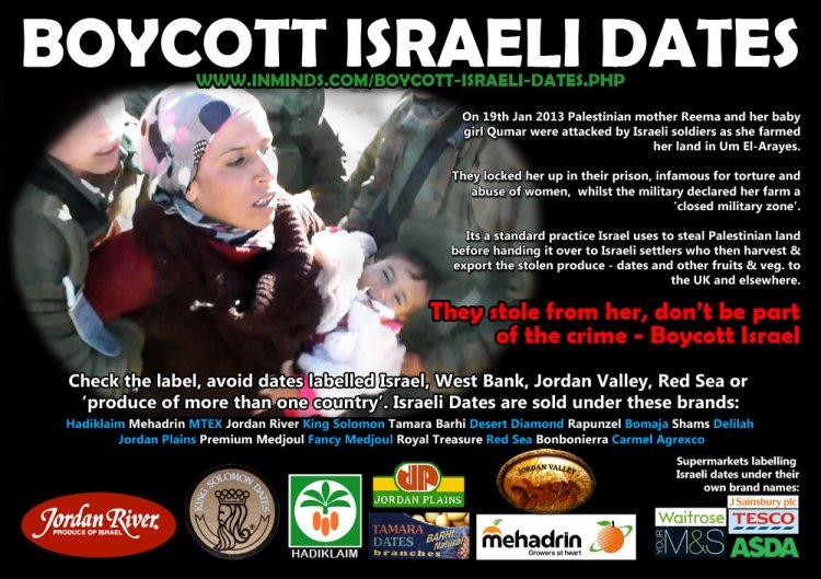 Boycott Israeli Dates
