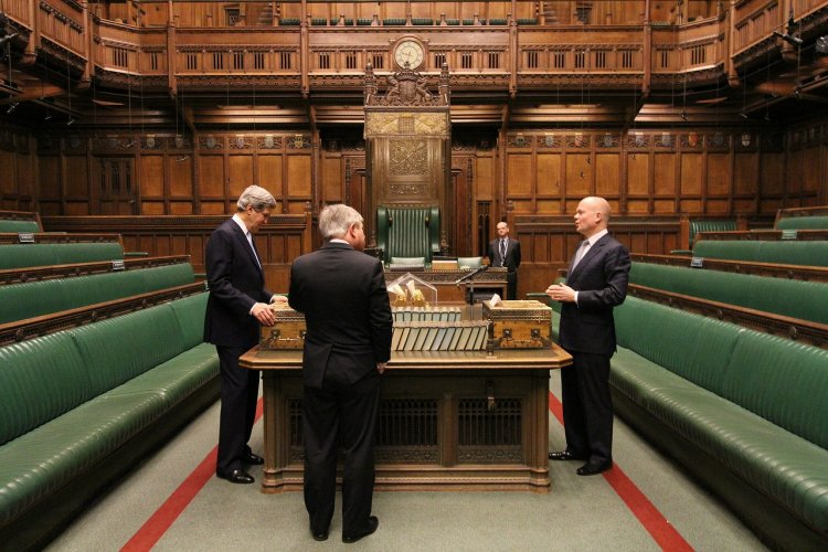 Inside the House of Commons
