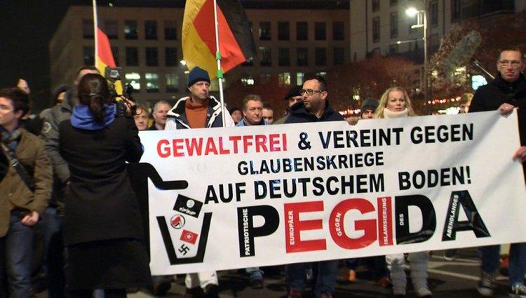 PEGIDA anti-Islam Rally